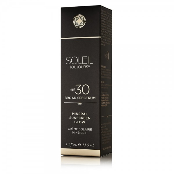 100% Mineral Sunscreen Glow SPF 30 | Soleil Toujours
