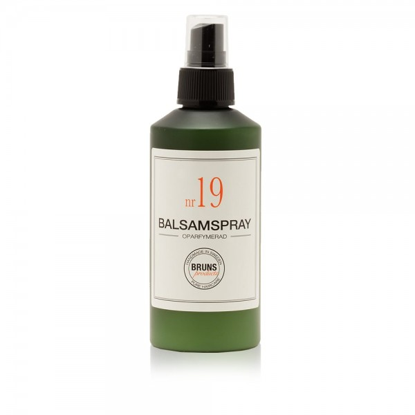 Nr. 18 Balsamspray (Unparfümiert) 200ml | BRUNS Products