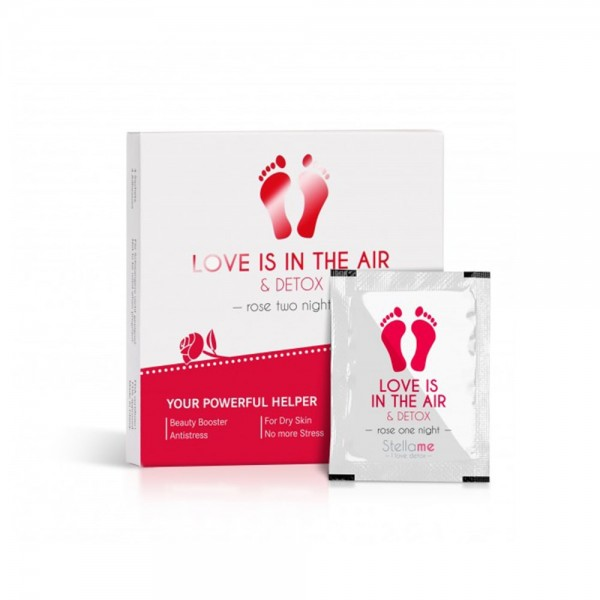 Love is in the air & Detox Fußpads, Rose 2 night Detox | Stella Me