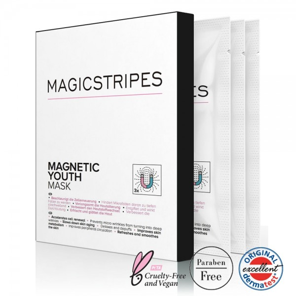Magnetic youth mask - 3 Paar | Magicstripes | Look Beautiful Products