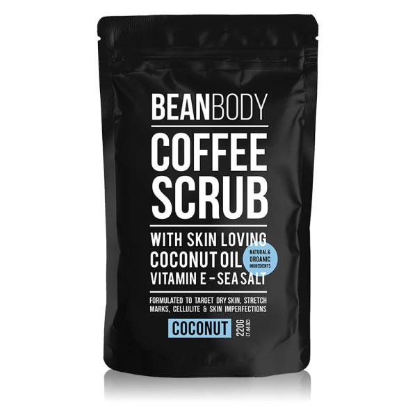 Coconut Coffee Body Scrub 220g | Bean Body