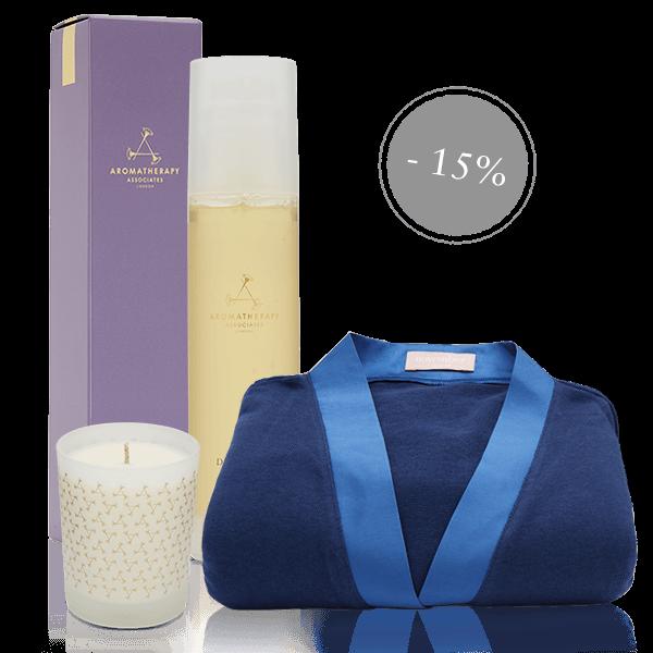 Spartrio - Duschgel & Kerze & Morgenmantel | Look Beautiful Products