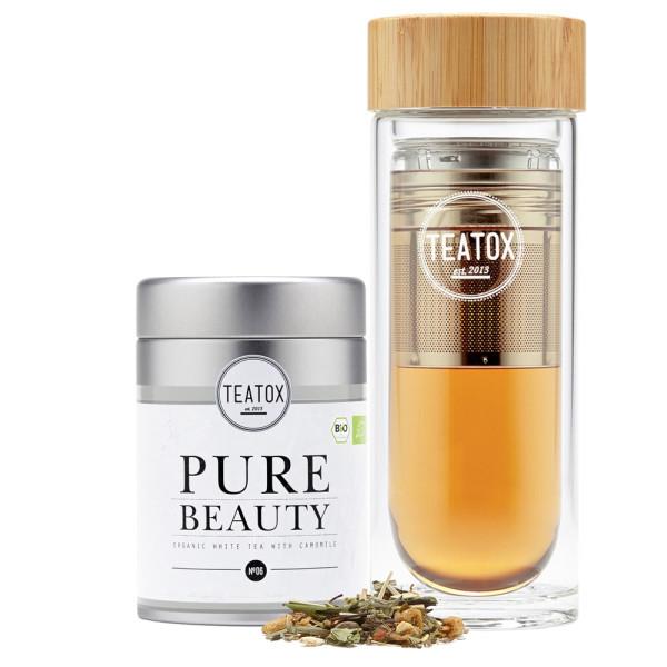 Pure Beauty To-Go Tee Set