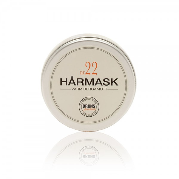 Nr. 22 Hair Mask Bergamot 50 ml | BRUNS Products