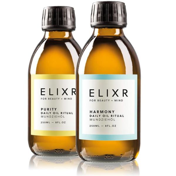 HARMONY & PURITY Daily Oil Ritual Duo | ELIXR