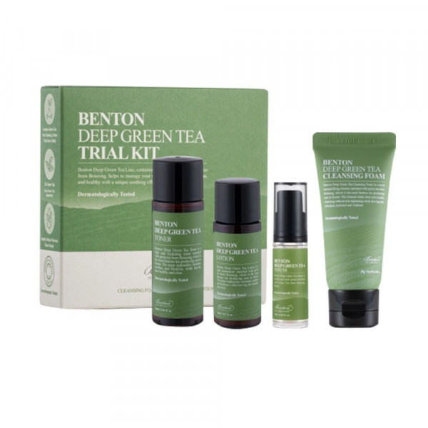 Deep Green Tea Trial Kit