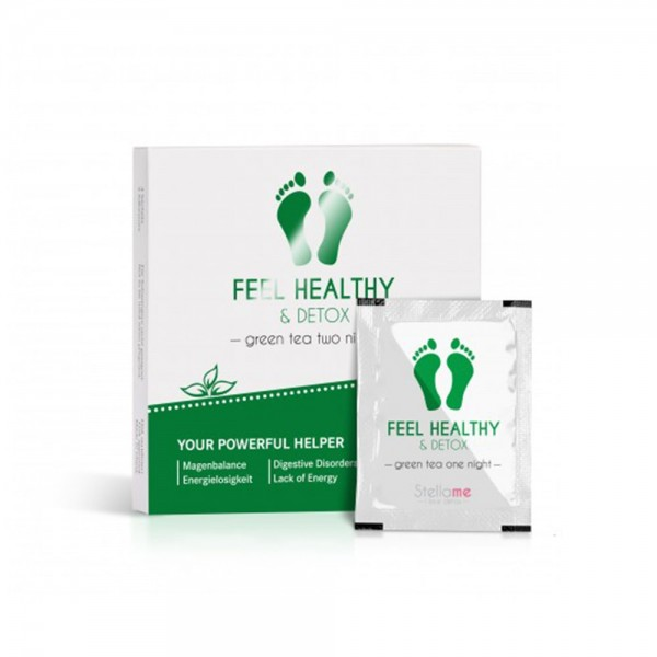Feel Healthy & Detox Fußpads / Grüntee 2 night Detox | Stella Me