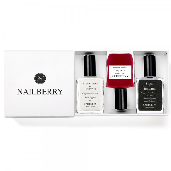 Nailberry the classic red one + Geschenkbox (Varianten)