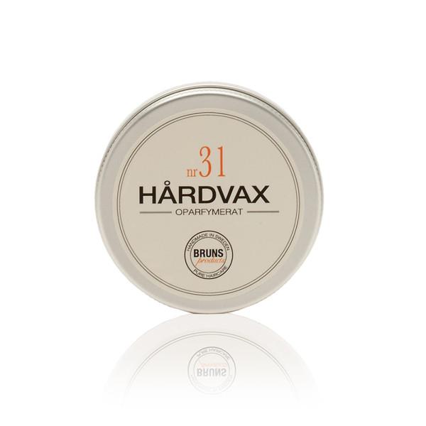 Nr. 31 Hair Wax Unscented (Unparfümiert) | BRUNS Products