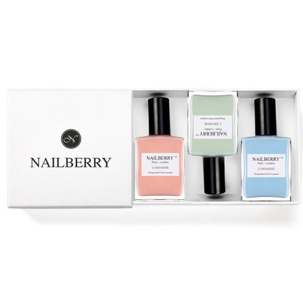 Nailberry Trio + Geschenkbox (Varianten) | Nailberry