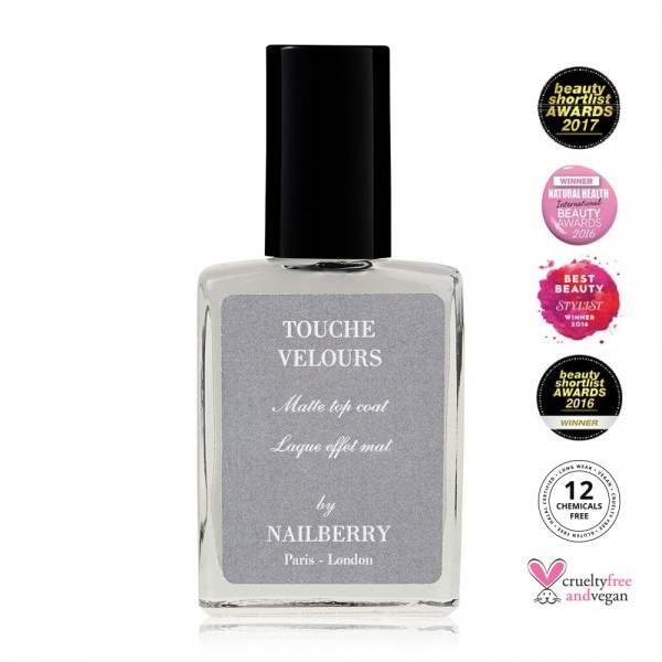 Touche Velours Matte Top Coat | Nailberry | Look Beautiful Products
