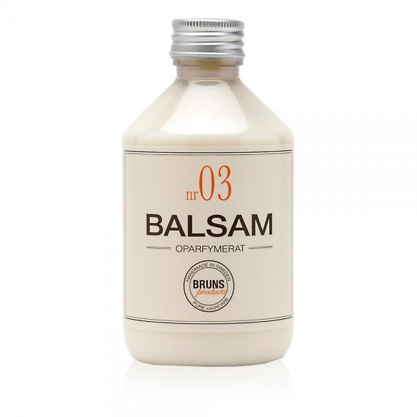Nr. 03 Unscented Balsam (Unparfümiert) 330ml | BRUNS Products