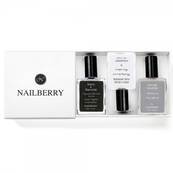 Nailberry Basic Trio + Geschenkbox | Nailberry