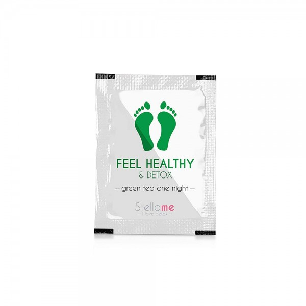 Feel Healthy & Detox Footpads / Grüntee 1 night Detox