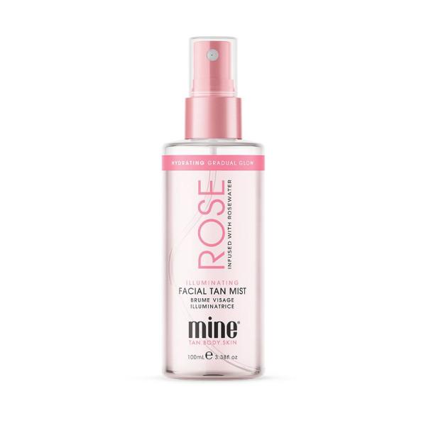 Rose Water Illuminating Facial Tan Mist