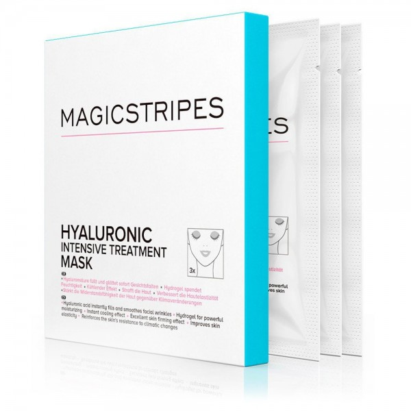 Hyaluronic Intensive Treatment Mask - 3 Paar | Magicstripes