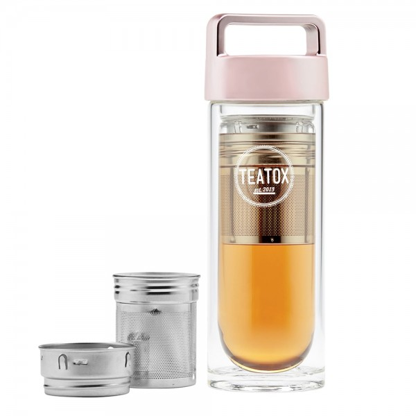 Thermo-Go Bottle, Roségold, 330ml | Teatox | Look Beautiful Products