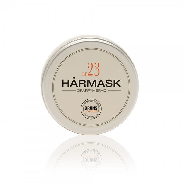 Nr. 23 Hair Mask Unscented 50ml | BRUNS Products