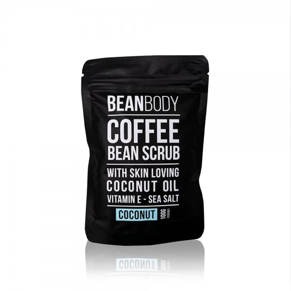 Coconut Coffee Body Scrub 100g | Bean Body