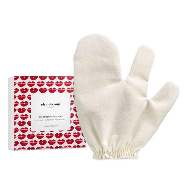 Rohseiden-Handschuh