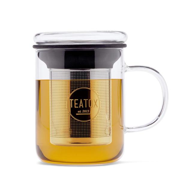 Glass Tea Mug | Teatox | Look Beautiful Products