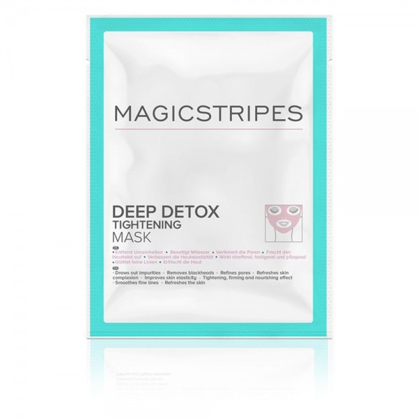 Deep Detox Tightening Mask - 1 Maske | Magicstripes | Look Beautiful Products