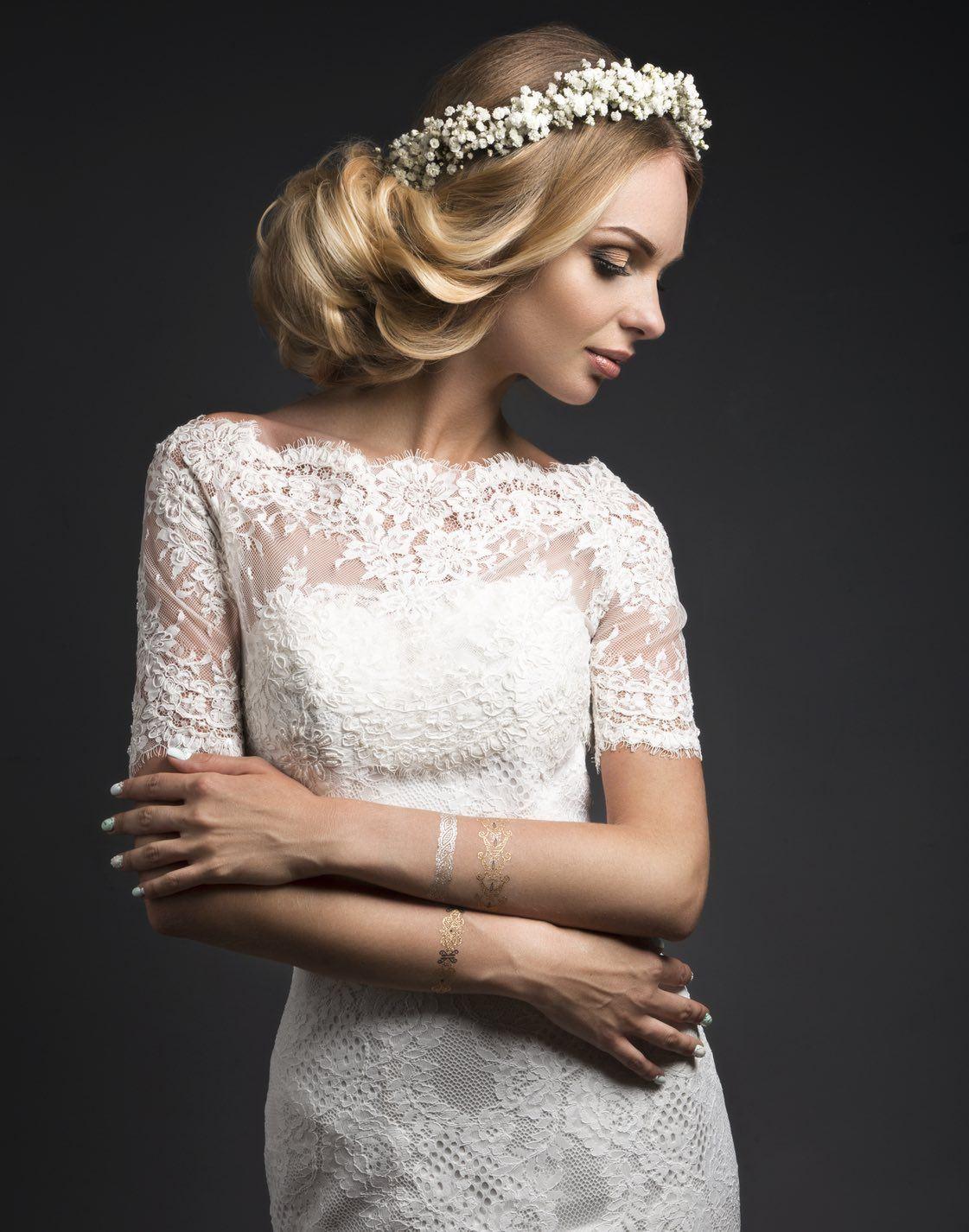 Braut Styling Frisur Und Make Up Fur Die Hochzeit Look Beautiful