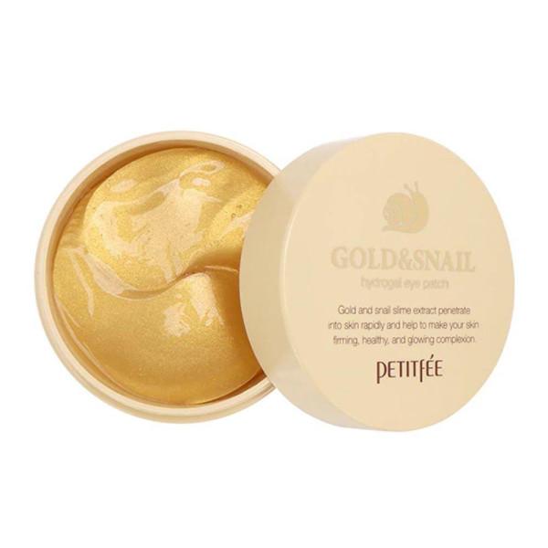Gold & Snail Hydrogel Eye Patches |Petitfée