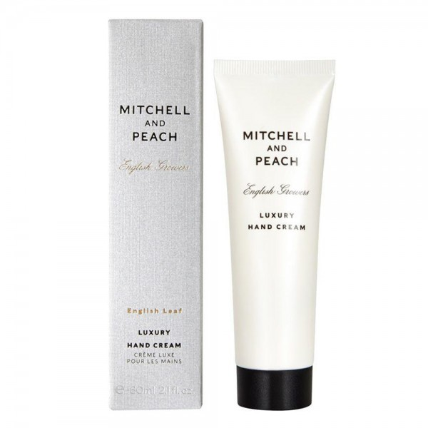 English Leaf Luxury Hand Cream | Mitchell and Peach