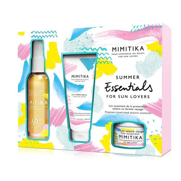 Summer Essentials Kit Huile SPF 50 | MIMITIKA