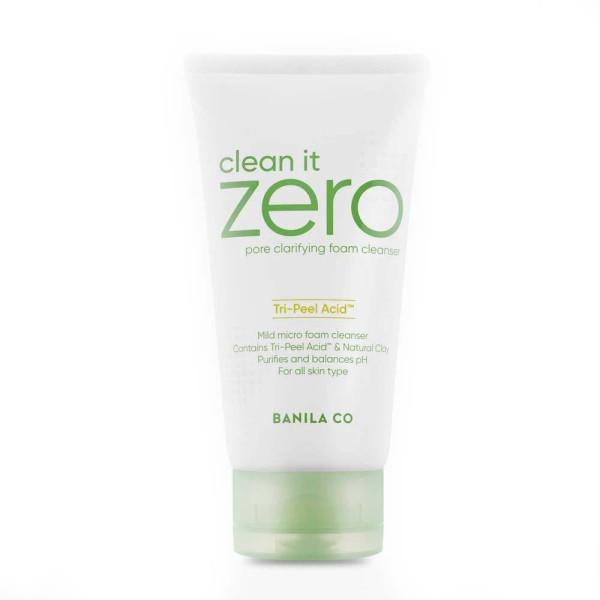 Clean it Zero Foam Cleanser Pore Clarifying