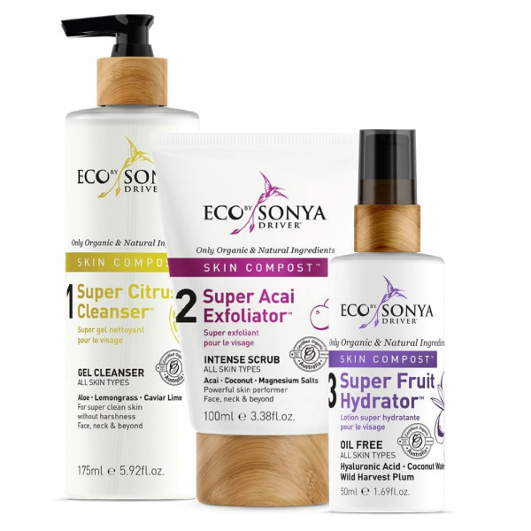 Skin Compost Collection Trio | Eco by Sonya | Look Beautiful Products