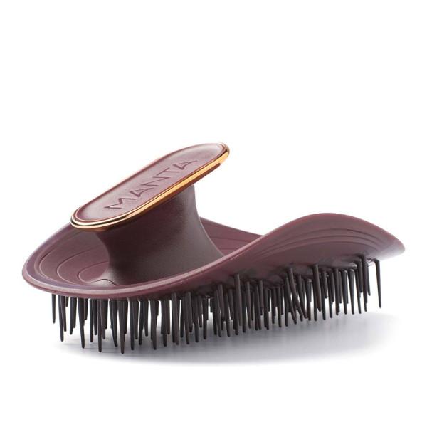 Manta Burgundy |Manta Hair Brush