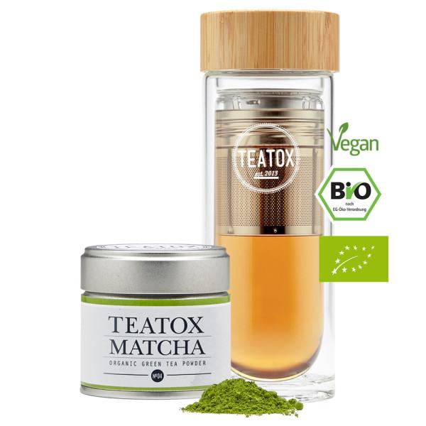 Teatox Matcha To-Go Set | Teatox | Look Beautiful Products