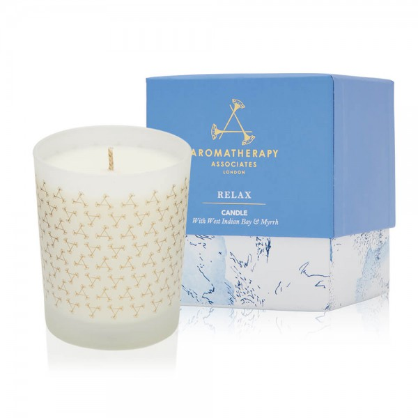 Relax Candle Aromatherapy Associates
