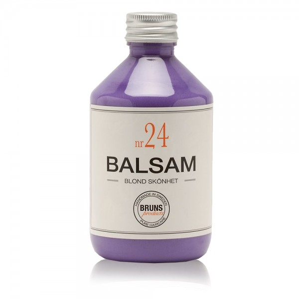 Nr. 24 Blond Beauty Balsam 330ml | BRUNS Products