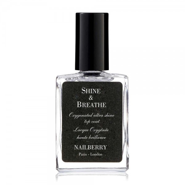 Shine & Breathe Oxygenated Ultra Shine Top Coat | Nailberry