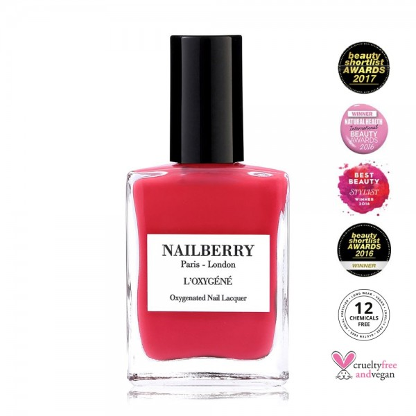Sunset on Venice Hot Coral | Nailberry | Look Beautiful Products