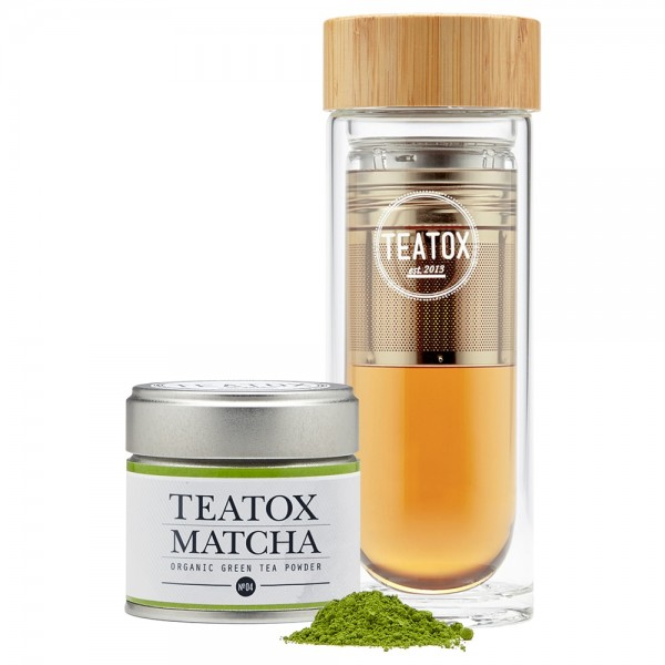 Teatox Matcha To-Go Set | Teatox | Look Beautiful Products