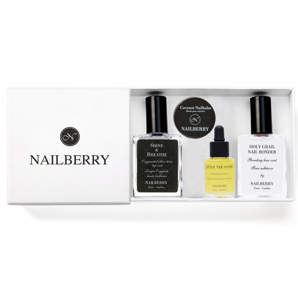 Nailberry Basic Deluxe Trio + Geschenkbox | Nailberry