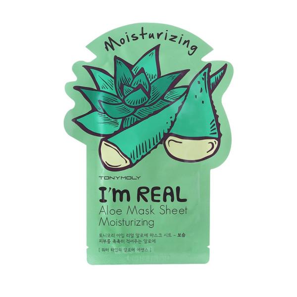 I'm Real Aloe Mask Sheet Moisturizing