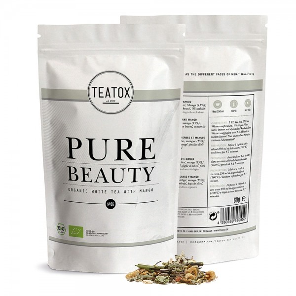 Pure Beauty, 60g, Refill | Teatox | Look Beautiful Products