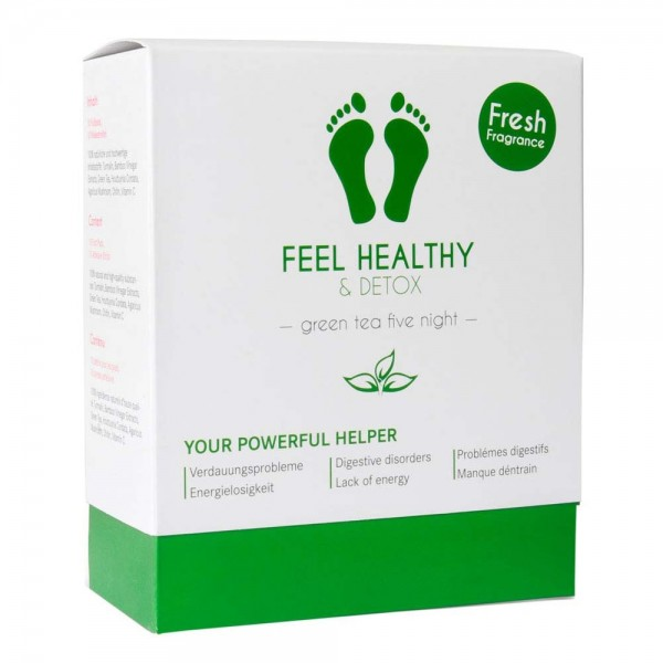 Feel Healthy & Detox Fußpads / Grüntee | Stella Me | Look Beautiful Products