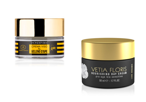 Wonder Bee von LR Wonder und Nourishing Day Cream von Vetia Floris