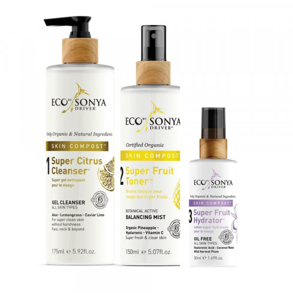 Driver Skin Compost 3 Step Skincare Toning | Eco by Sonya